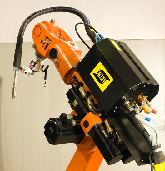 Robot saldatura panasonic